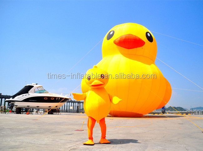 Popular big rubber duck for promotion