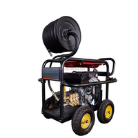 cold water 22hp gasoline engine portable 350bar 5000PSI jet power high pressure washer