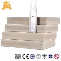 Durable 100% Asbestos Free Insect Proofing Damp Proof Sound Insulation 25mm Fibre Cement Board