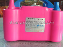 round latex balloon and portable electric balloon pump