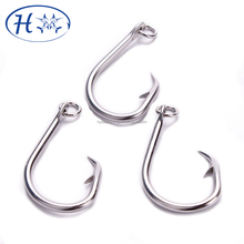 Stainless Steel Circle hook Strong fishhook,Tuna Fishing Hooks manufacture