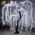 Artifical led weeping willow tree for garden event decoration