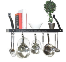 Flat Plate Hanging Pot Rack