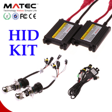 Replace halogen good beam fog lamp HID headlight kit bi xenon conversion kit h4 9005 9006 canbus hid