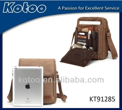 2014 nice canvas shoulder bag for ipad /wholesale waist bag for ipad