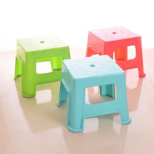 Factory Price Fruit color Household Baby Plastic stool