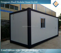 Modular prefab home kit price,low cost portable container kit house