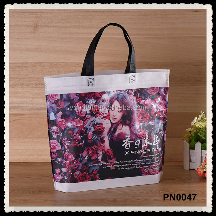 Cheap Price Custom Non-Woven Bulk Reusable Printed Shopping PP Non Woven Bag