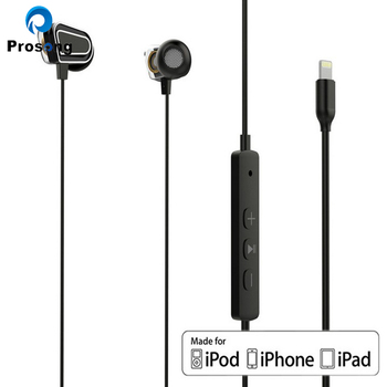 new coming in ear digital earphone with 8 pin