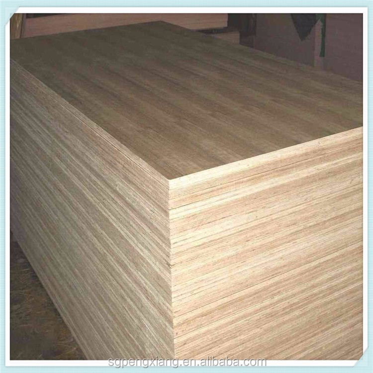 Natural Wood Veneer Commercial Plywood Board