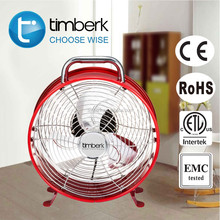 10 inch clock shape electric power table fan