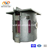 1.5 ton integrated designed iron scrap smelting furnace