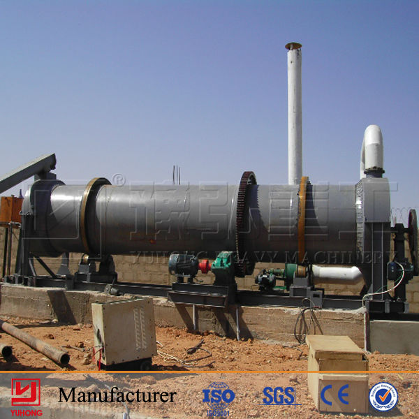 Work Smoothly Cow Dung Rotary Dryer from Yuhong Group