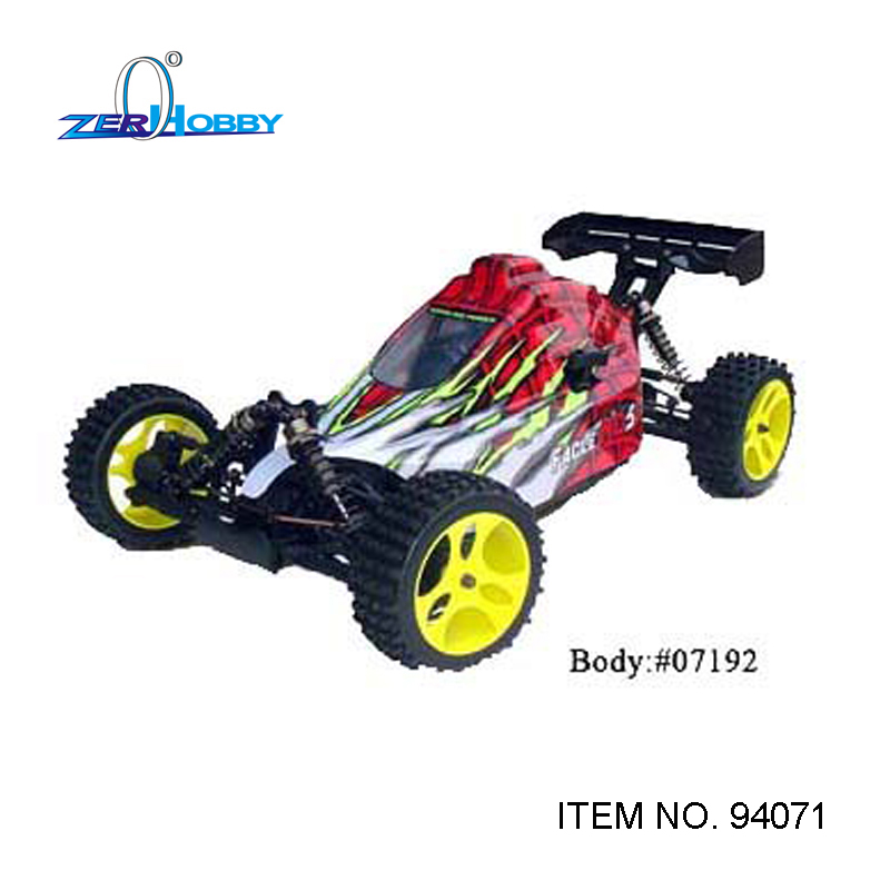 RC CAR TOYS HSP 94071 GAS BUGGY 1/5 SCALE OFF ROAD REMOTE CONTROL 30CC ENGINE HIGH SPEED