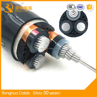 1-35KV Cu/AL/ armoured XLPE insulated 300 sq mm power cables
