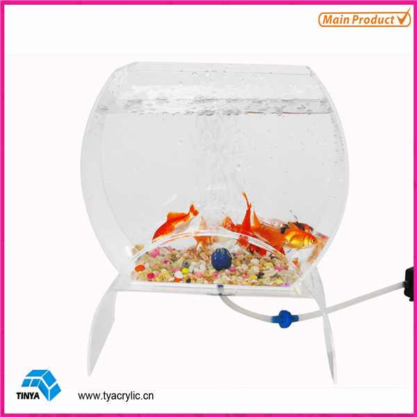 Mini-Table Aquarium Modern Acrylic Fish Aquarium