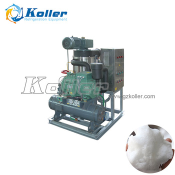 Koller Slurry Ice for Fish, Seafood, seawater ice machine vessel 1 ton