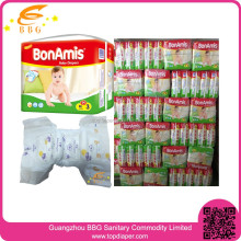 Ultra absorbent breathable cloth baby diaper in bulk china supplier baby diapers for sale
