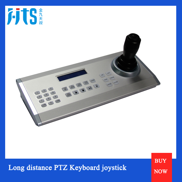 Rs485 Keyboard Controller , Support Sony, Polycome, Panasonic Video Conference Camera Joystick Keyboard Controller
