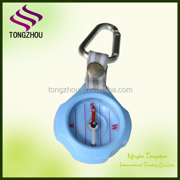 carabiner decorative compass