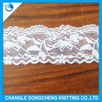 Litter flower lace fabric for curtains decoration