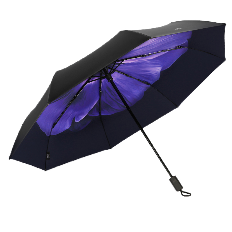 The Chinese lady hand sun protection parasol umbrella with anti uv coated umbrellas
