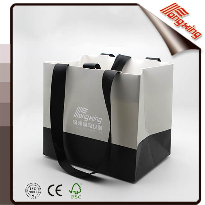 High quality wholesale fashionable gift packaging bag