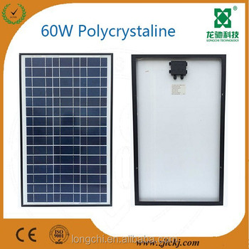 60W High efficiency poly solar panel