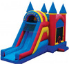 jumper castle slide inflatable 18' inflatable little dragon gate slide/inflatable slide dry