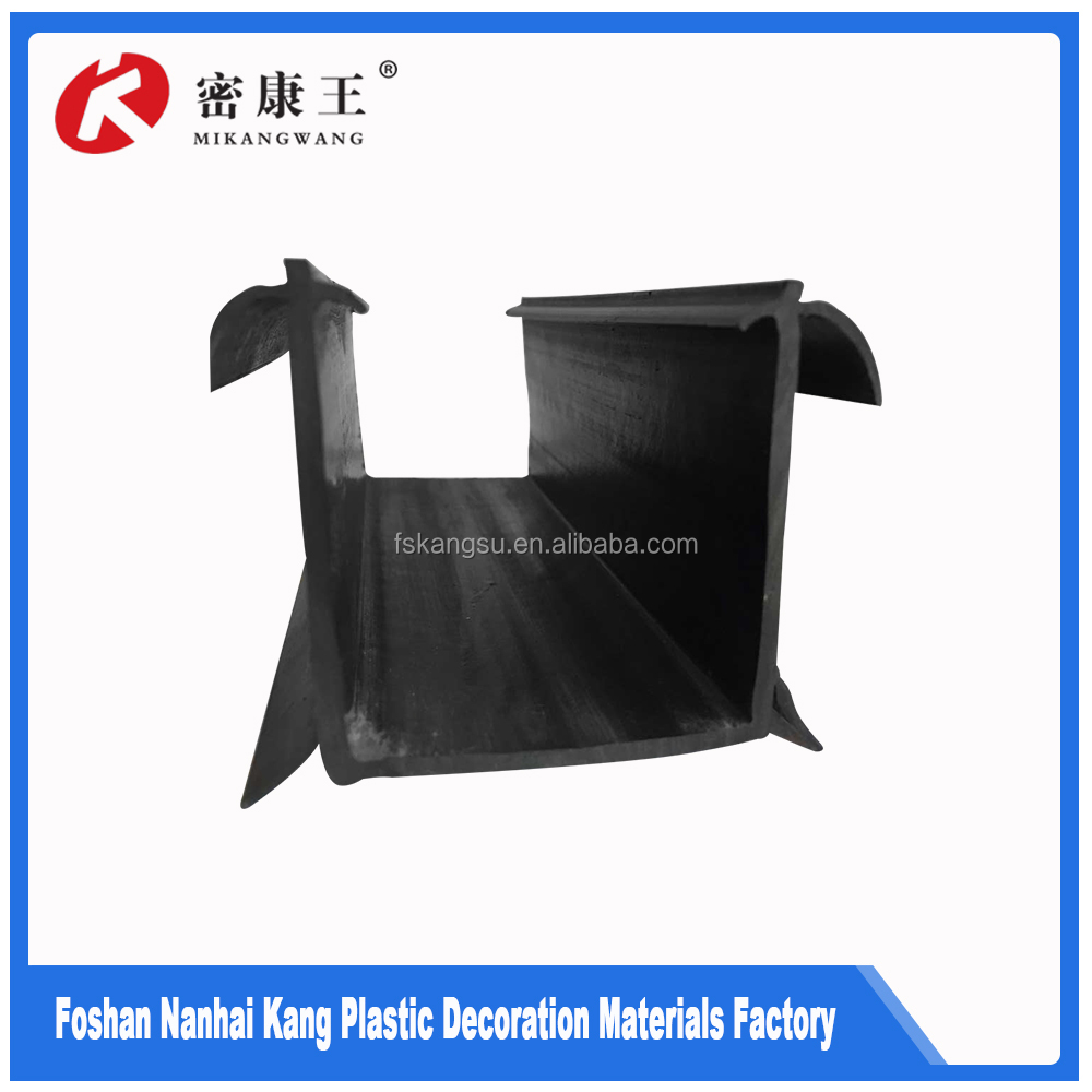 Serviceable black pvc pipes pvc window seals rubber