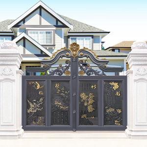 HS-LH006 front designs garden gate door