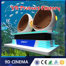Guangzhou high-tech products 9d vr game simulator 6 sitter 9d sinema kamyon mobile