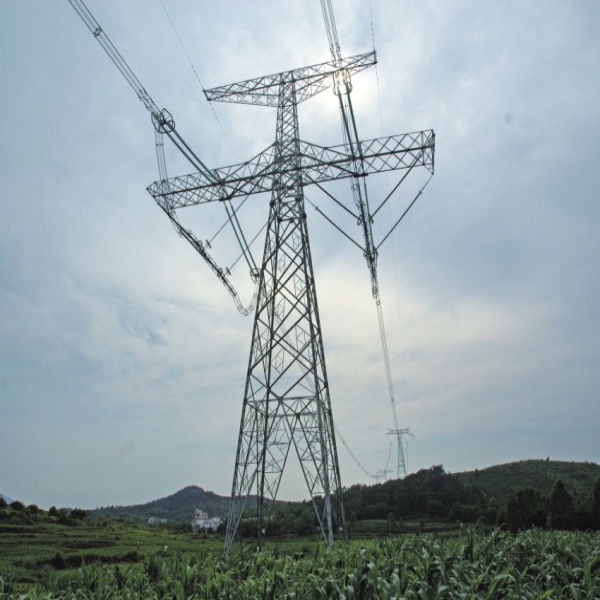 galvanized stable Transmission lattice tower