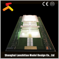 Modular Housing, residential architectural building model making