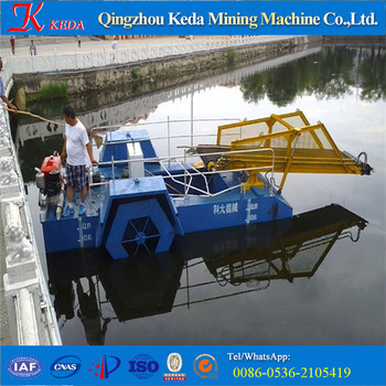 KEDA ISO Certificate Weed Cutting Dredger / Weed Harvester For Sale
