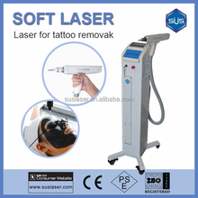 Vertical Q-Switched YAG Laser Tattoo Removal spphire ruby laser machine