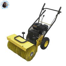 electric manual sweeper machine tractor 3 point hitch snow sweeper