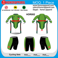 sublimation cycling jersey cycling wear, sublimate cycling shirts honorapparel