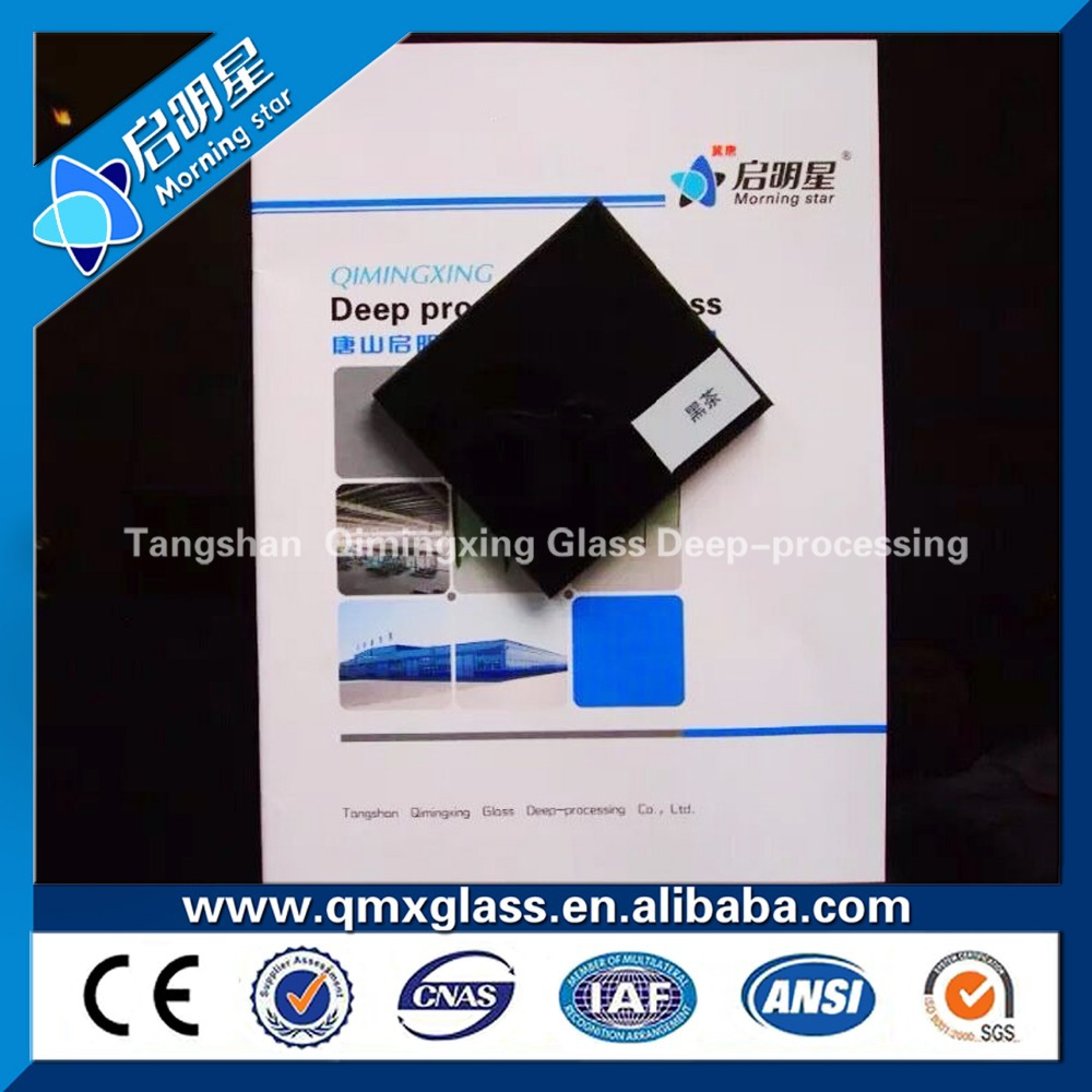 tempered low-e laminated glass for commercial buildings