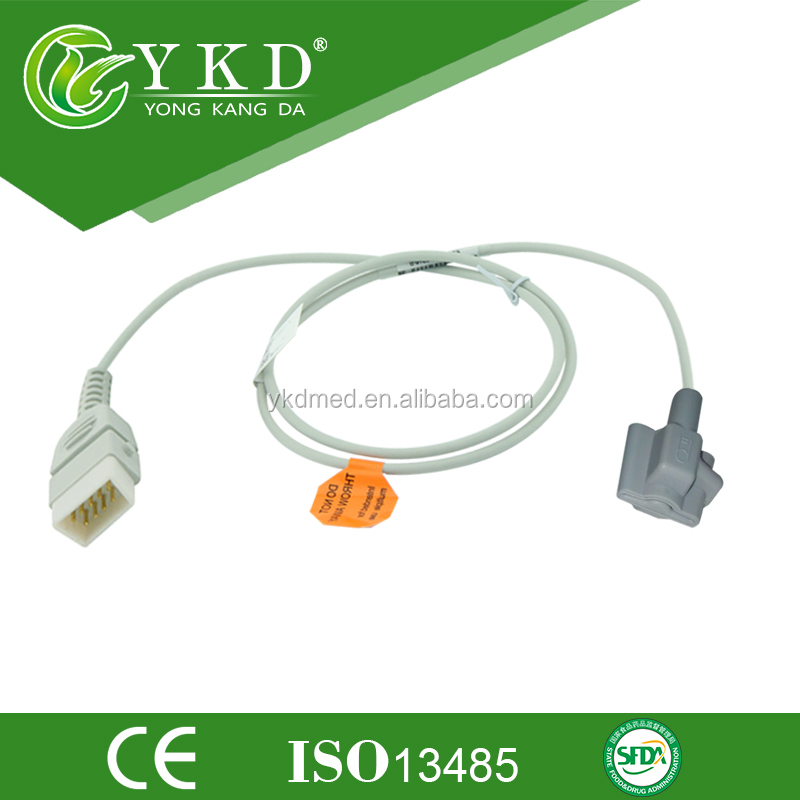 Pediatric pluse oxymeter probe compatible with CSI Defibrillator from YKD company the medical accessories manufacturer
