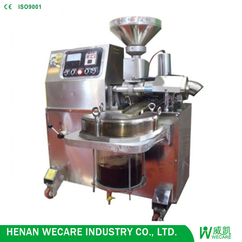 small commercial oil press machine/oil making machine/cold oil press
