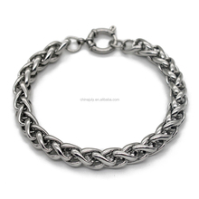 wholesale alibaba anchor bracelet clasp men's fashion stainless steel bracelet