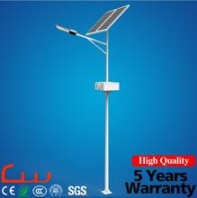 China suppliers 60W 80w LED street light with 7M SS400 pole