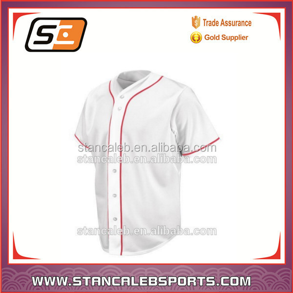 Professional baseball jerseys customized cheap blank baseball jerseys wholesale