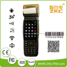 custom-made Android best pos pda with thermal printer / RFID reader handheld parking ticket machine