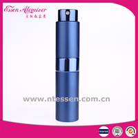 8ml /10ml /15ml Wholesale Empty Round Aluminum Perfume Spray Glss Bottles