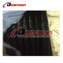 6x36WS+IWRC Black Grease Ungalvanized Steel Wire Rope