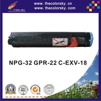 (CS-CNPG32) toner laserjet printer laser cartridge for Canon NPG-32 GPR-22 C-EXV-18 NPG32 GPR22 CEXV18 NPG 32 22 C EXV 18 8.4k