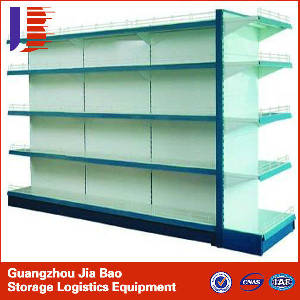 Top Hot!!!! High Quality Metallic Fashion Modern Advertising Display Supermarket Shelf