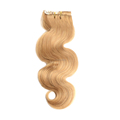200g full head set clip in hair extensions indian blonde remy wavy hair